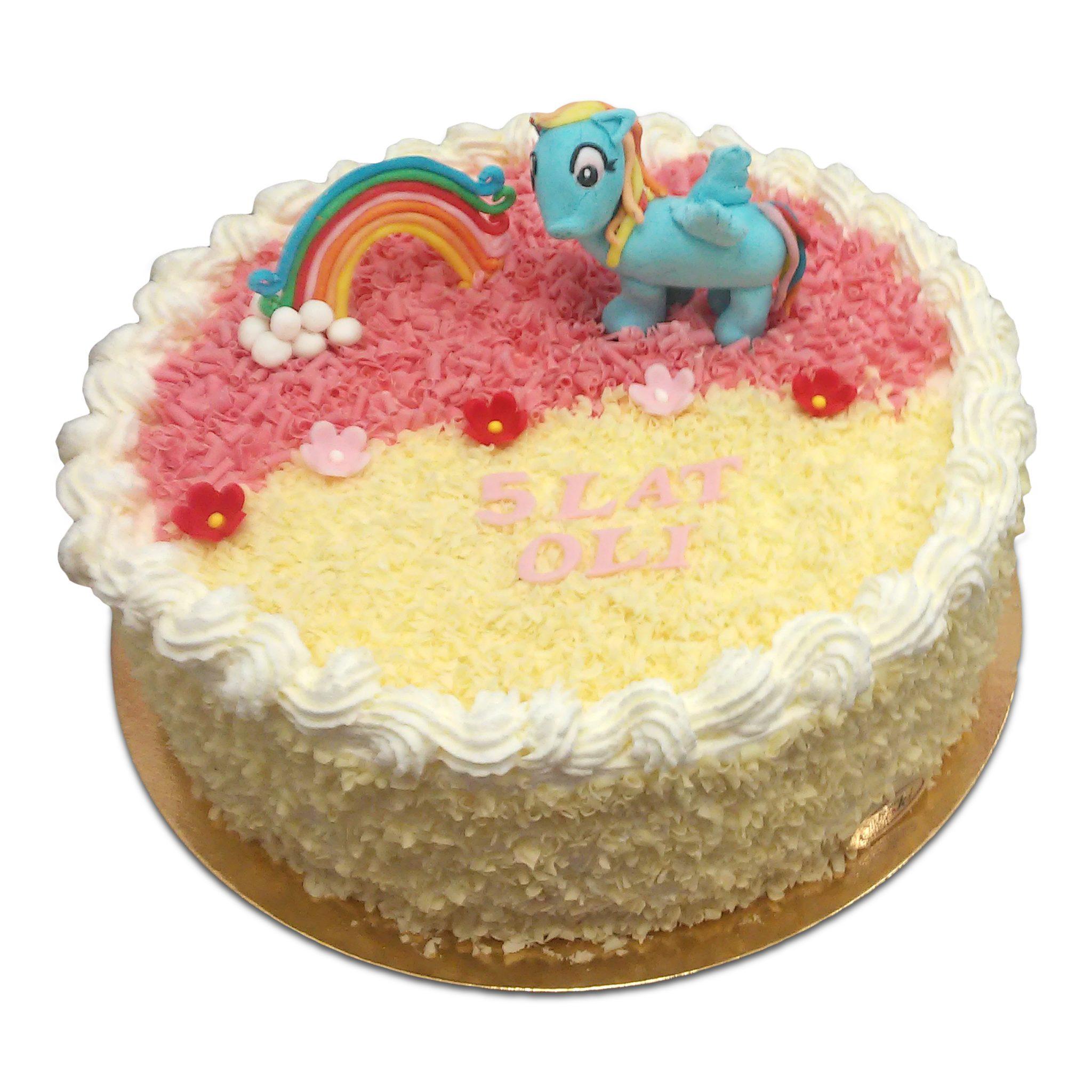Tort z kucykiem My Little Pony