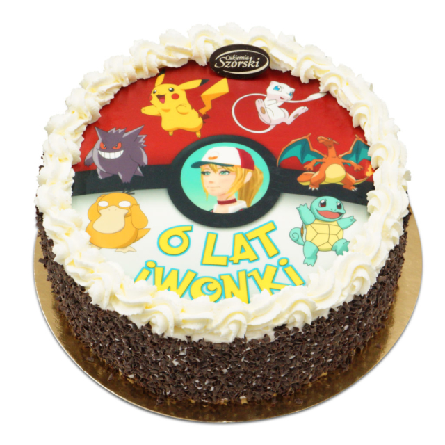 Tort z Pokemonami
