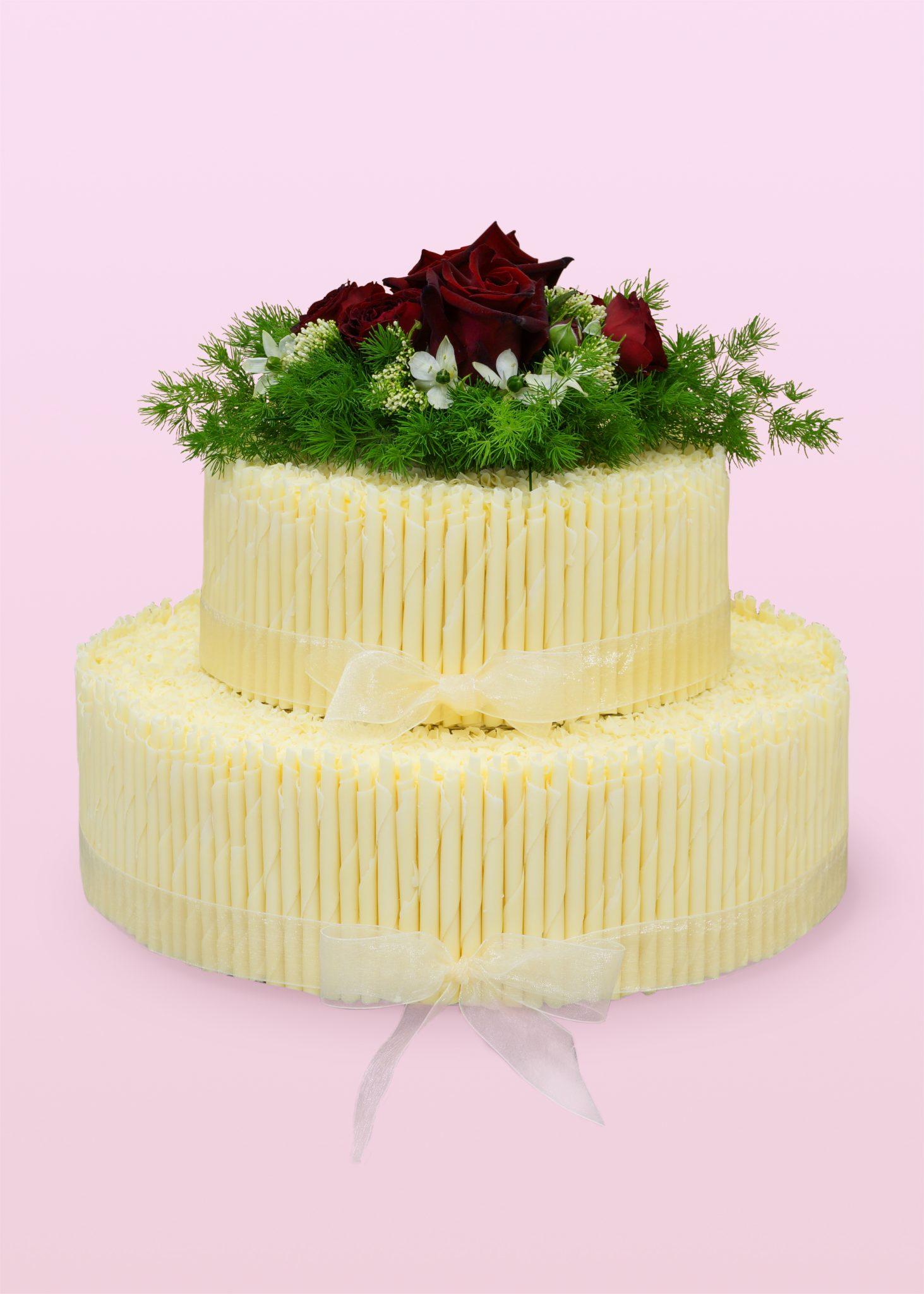 tort weselny, tort na wesele, 2 piętrowy tort