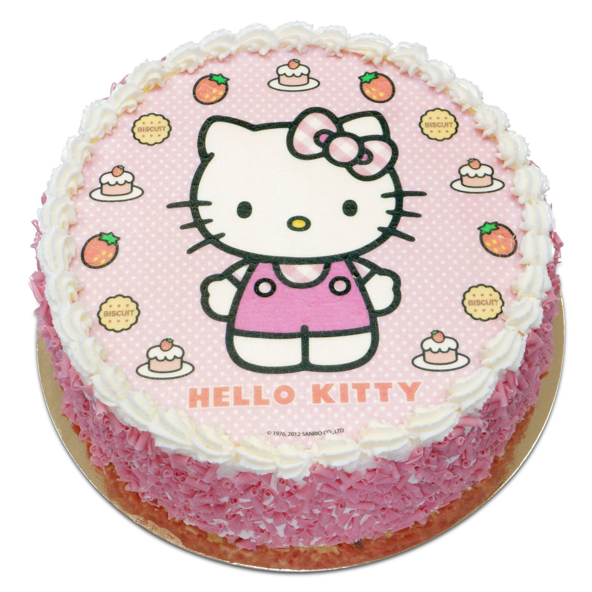 Tort z Hello Kitty