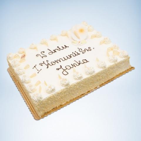 tort na pierwszą Komunię Świętą