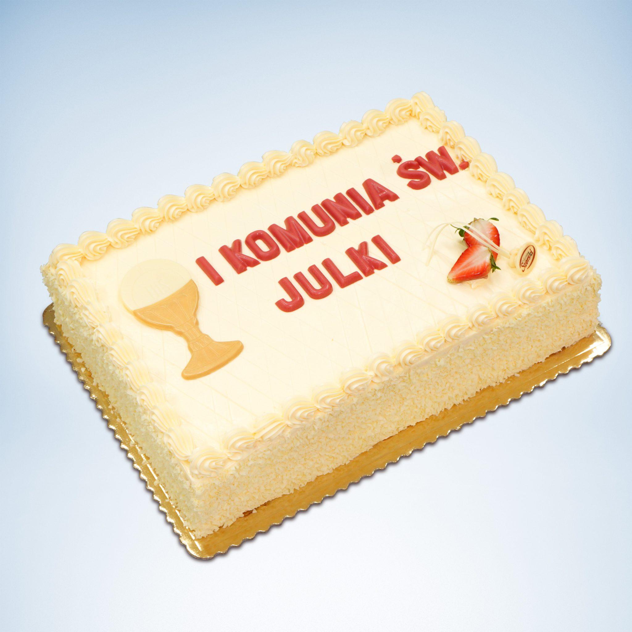Tort na I-szą komunię
