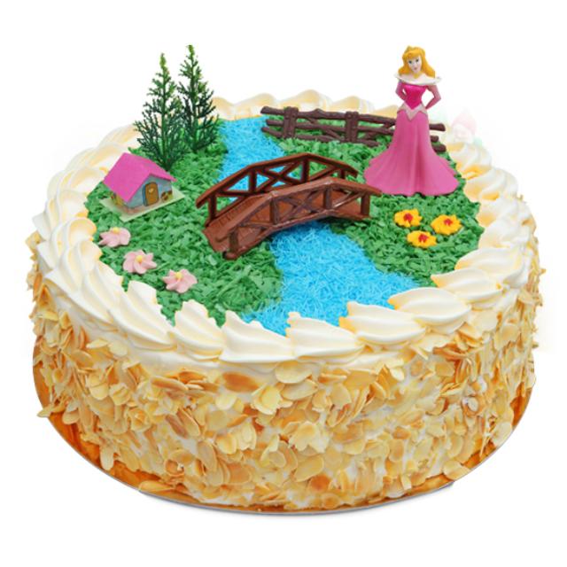 tort z księżniczką