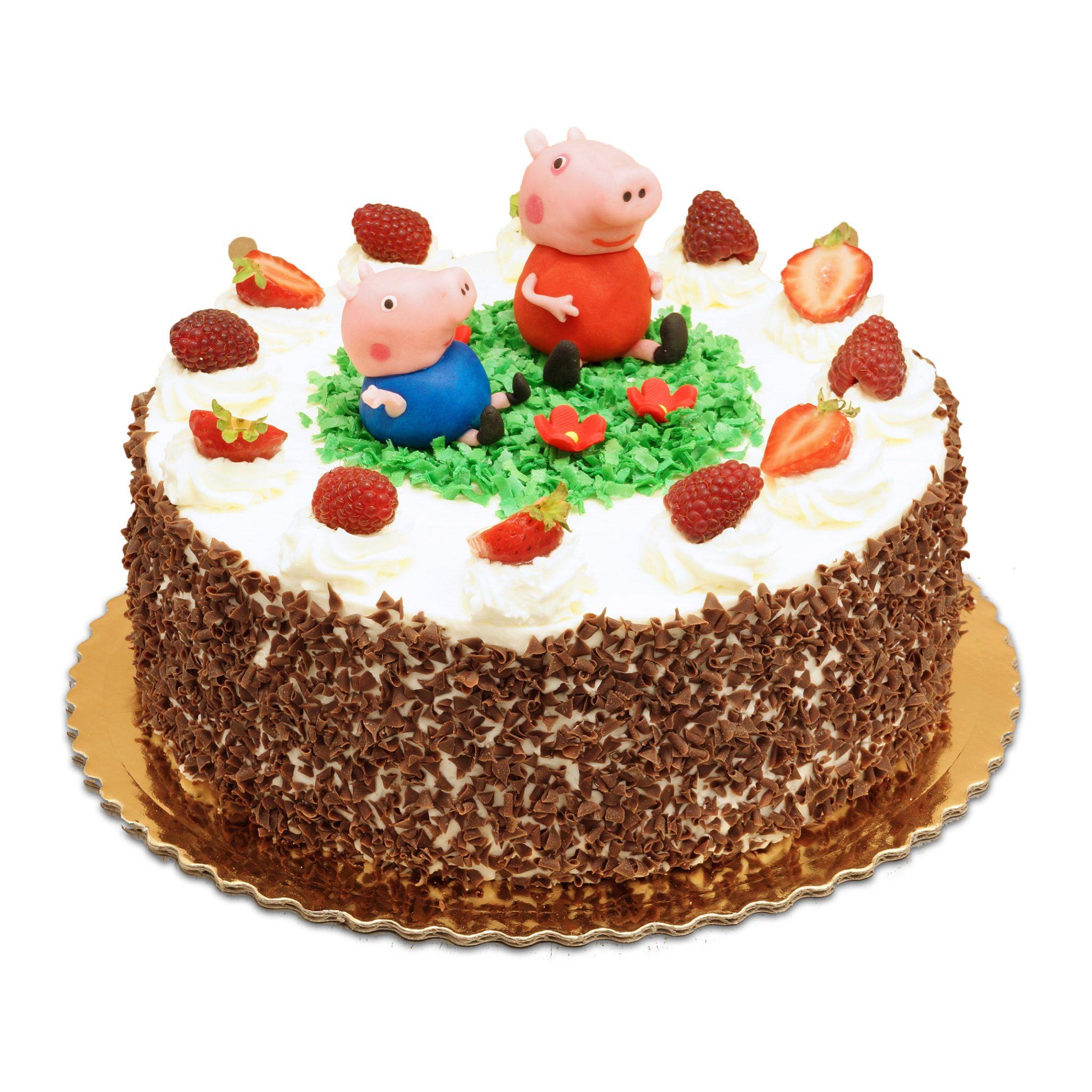 tort z Świnką Peppą