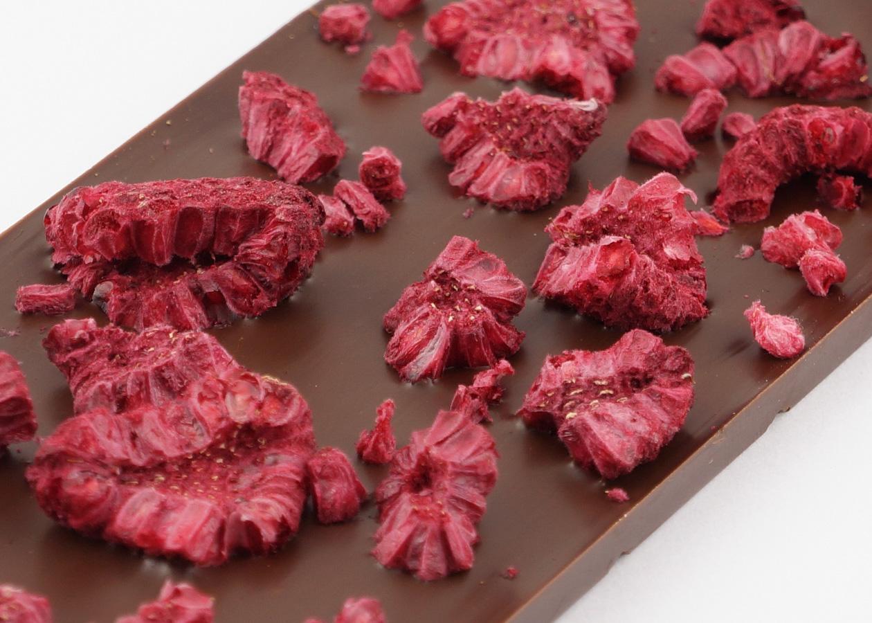 czekolada z malinami