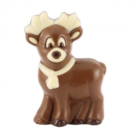 renifer z czekolady