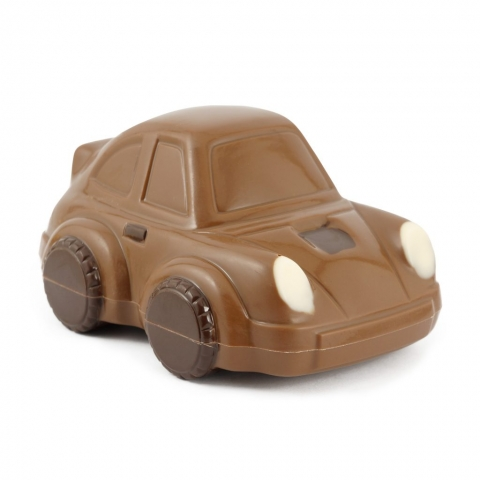 autko z czekolady