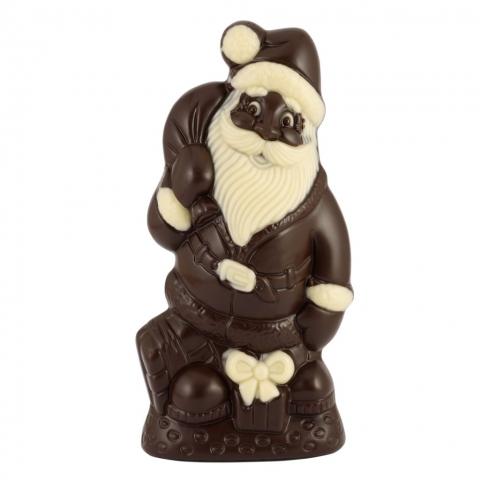 Mikołaj z czekolady deserowej
