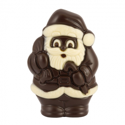 maly mikolaj z czekolady deserowej