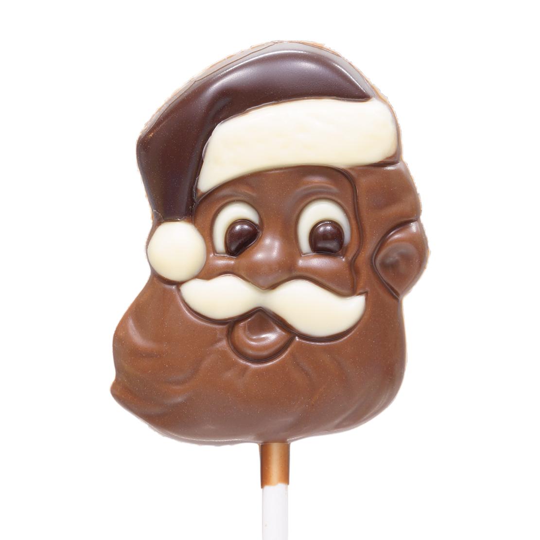 lizak z czekolady mikołaj