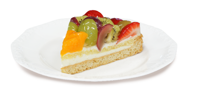 Tarta z owocami z cukierni z ostrowa