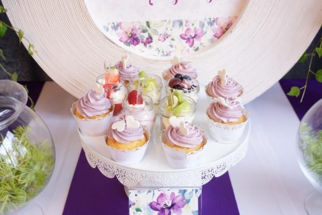 babeczki cupcake na słodki stół