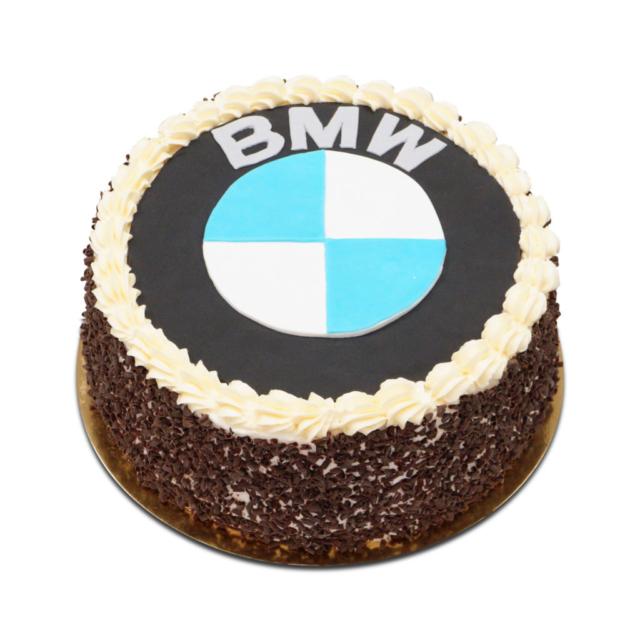 Tort z logo BMW