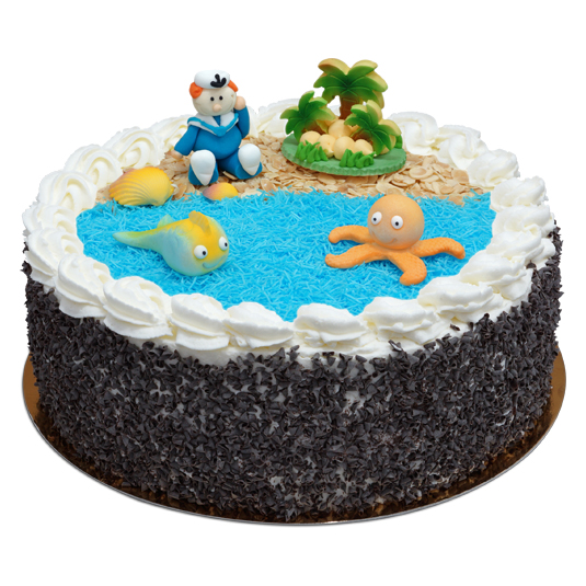 Tort z Rajską Wyspą