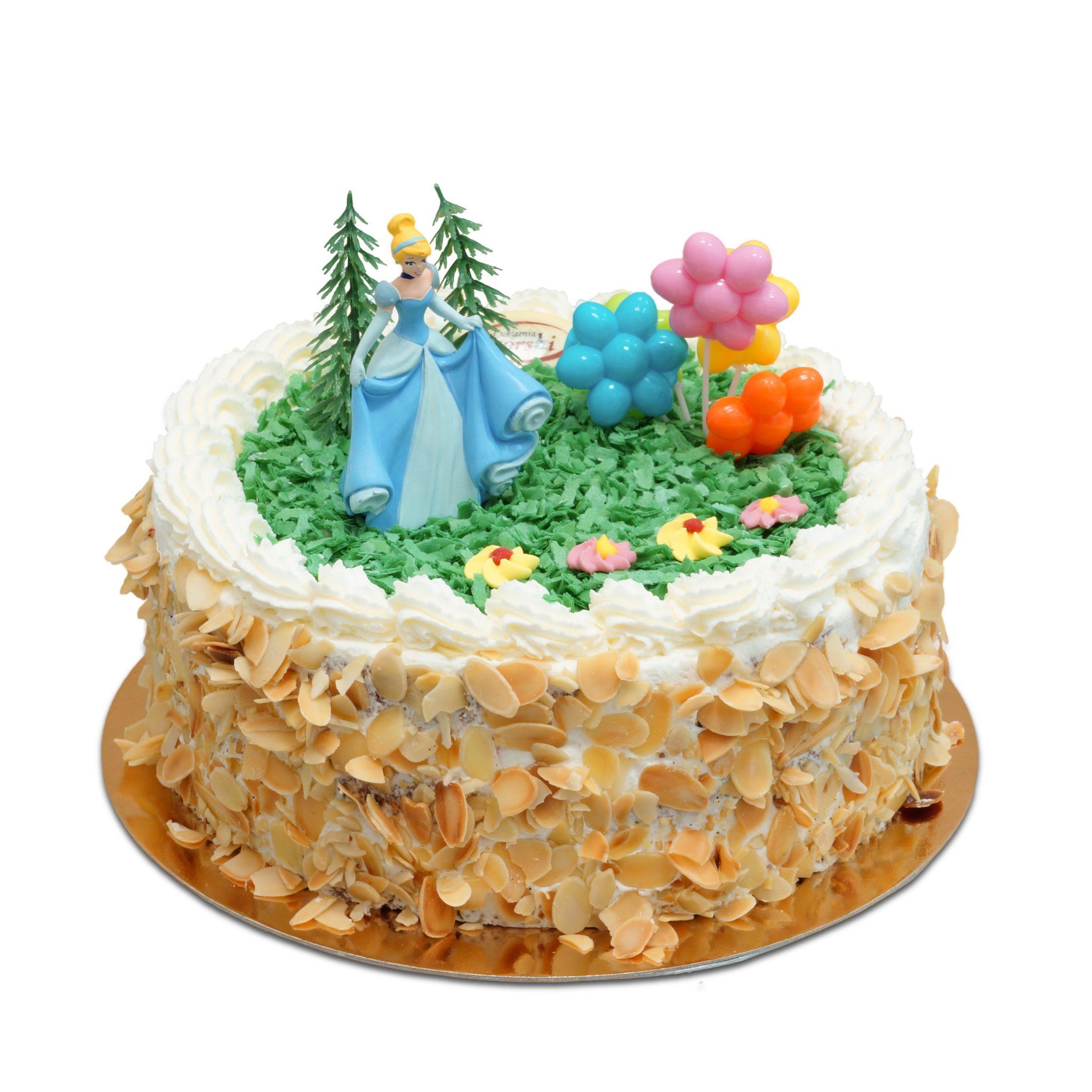 Tort z Kopciuszkiem