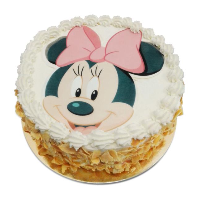 Tort z opłatkiem z myszką Minnie