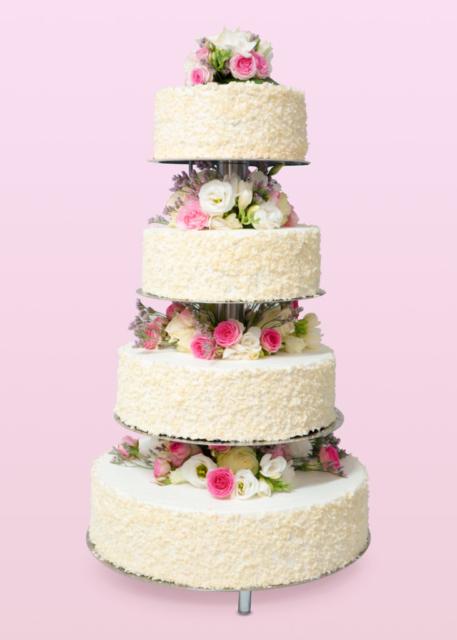 torty weselne ostrów wielkopolski, tort na wesele ostrów wielkopolski, 4 piętrowy tort