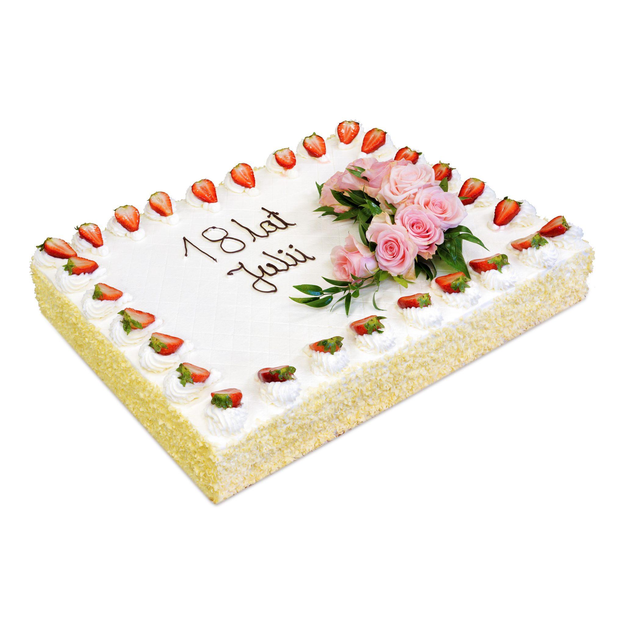 Tort na osiemnastkę