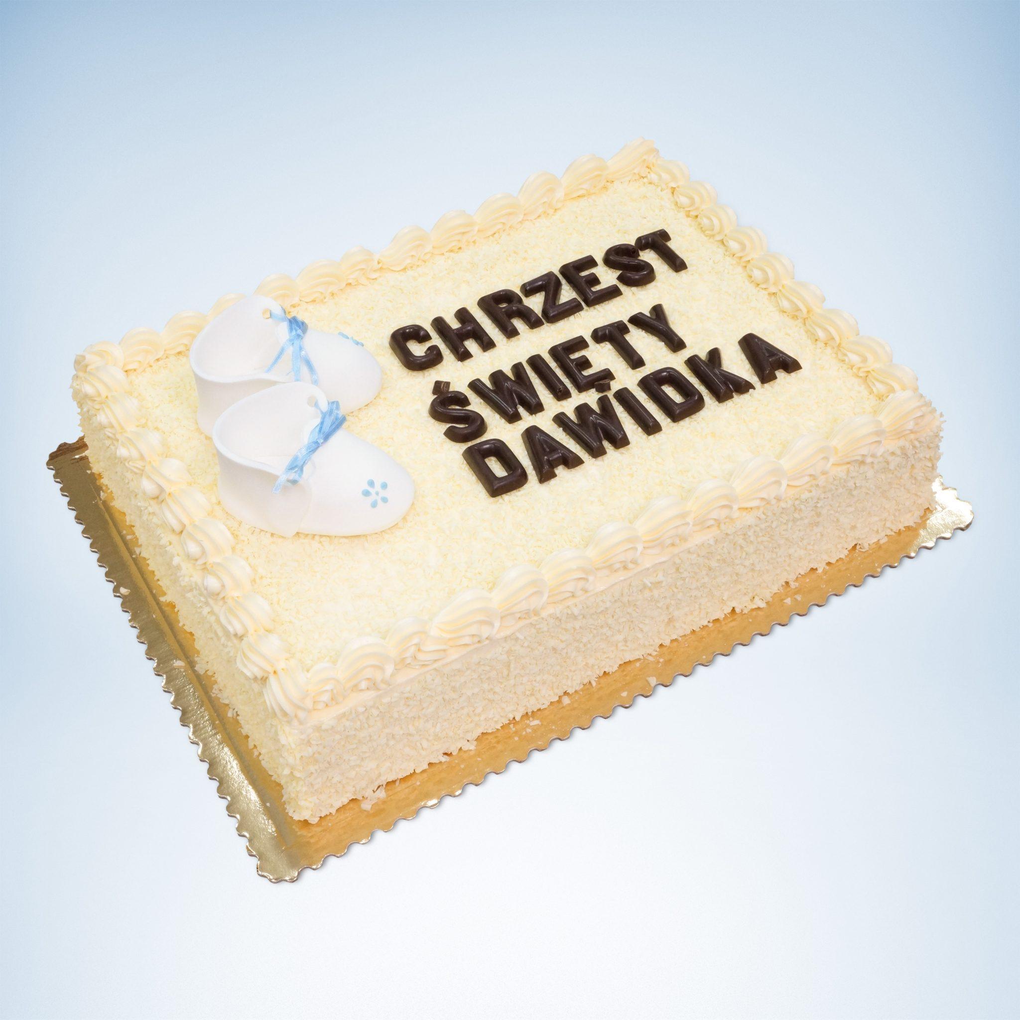 chrzest Święty Tort, tort na chrzciny ostrów Wielkopolski