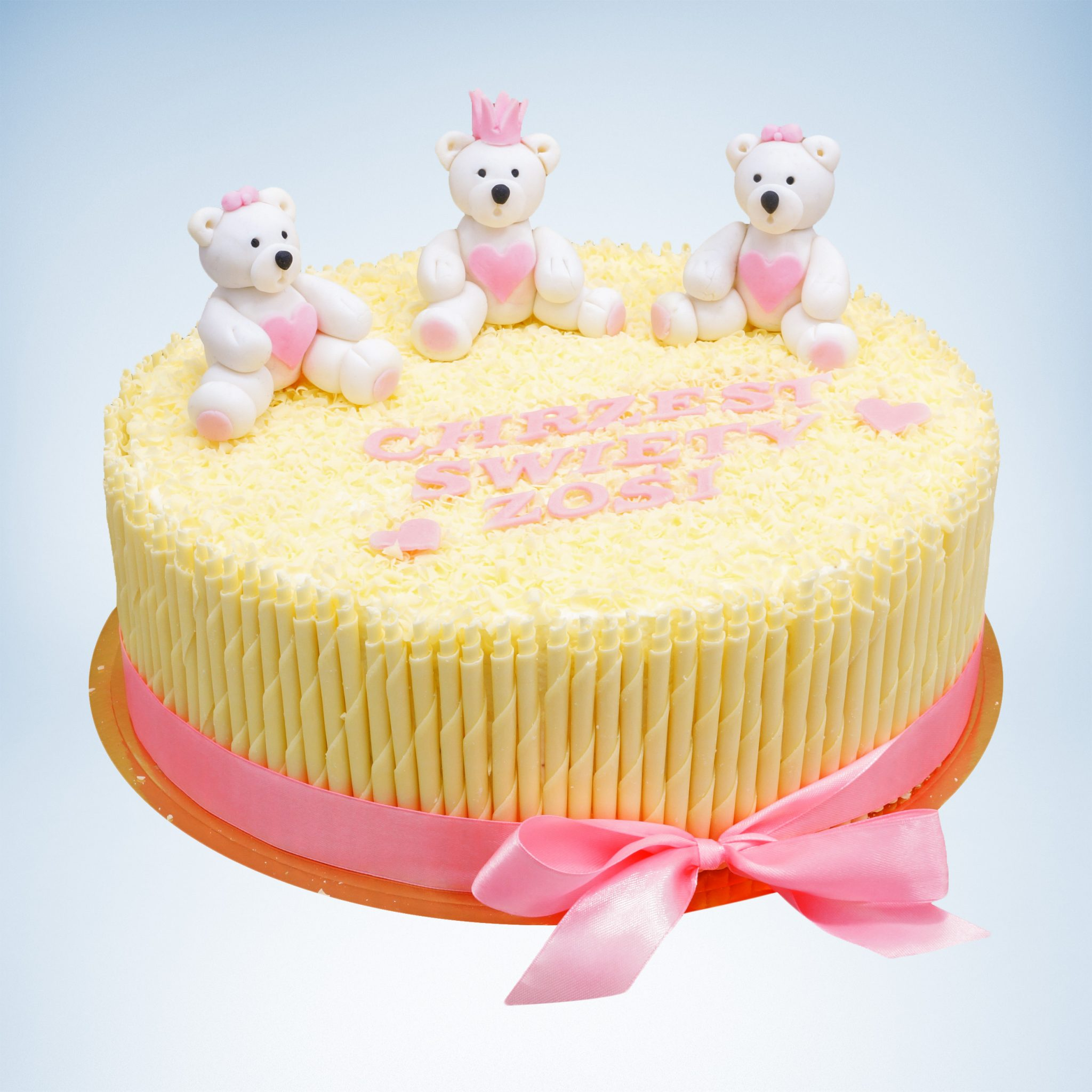 chrzest Święty Tort, tort na chrzciny