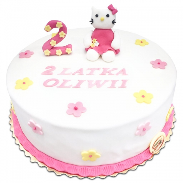 Tort z Hello Kitty
