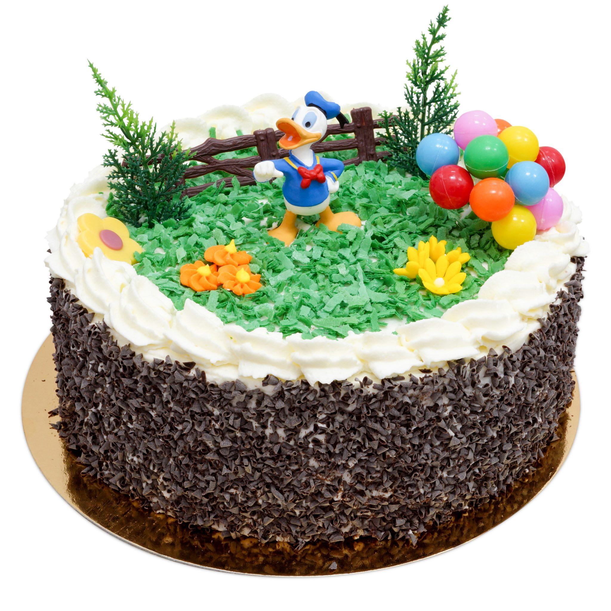 tort z kaczorem donaldem