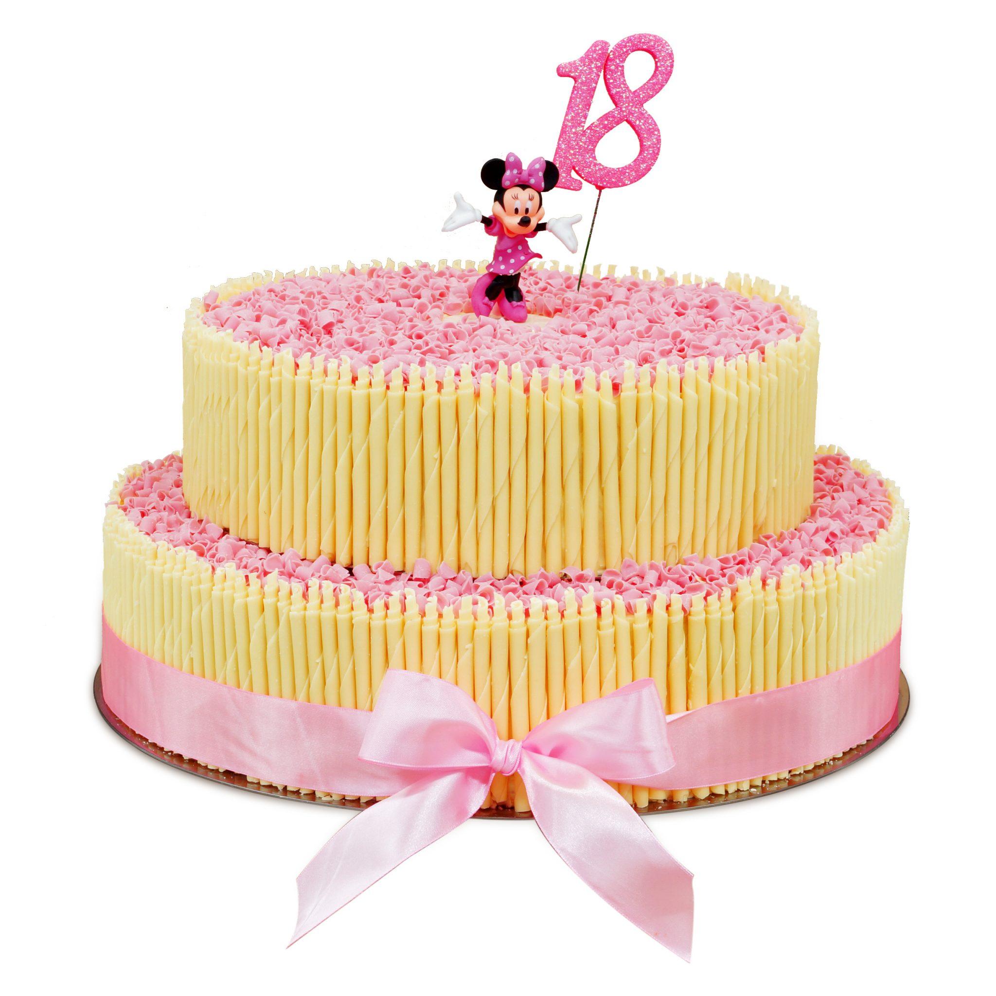 tort na osiemnastkę 18 z Myszką Minnie cukiernia ostrów wielkopolski