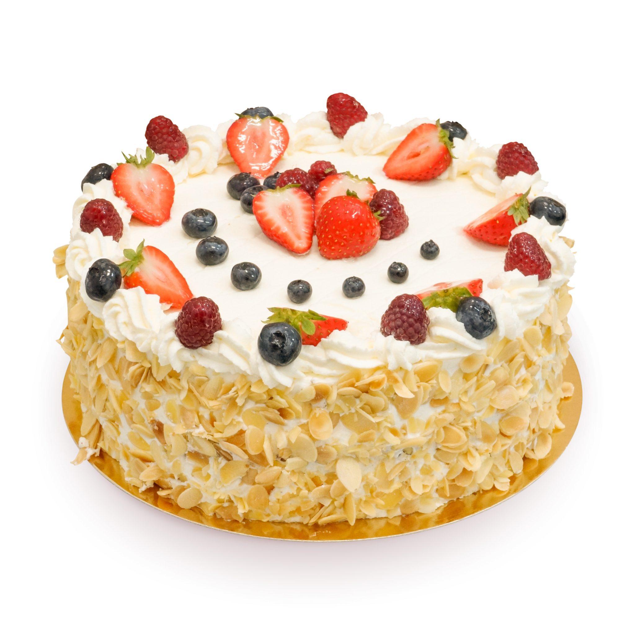 tort z truskawkami, malinami i borówkami ostrów wielkopolski