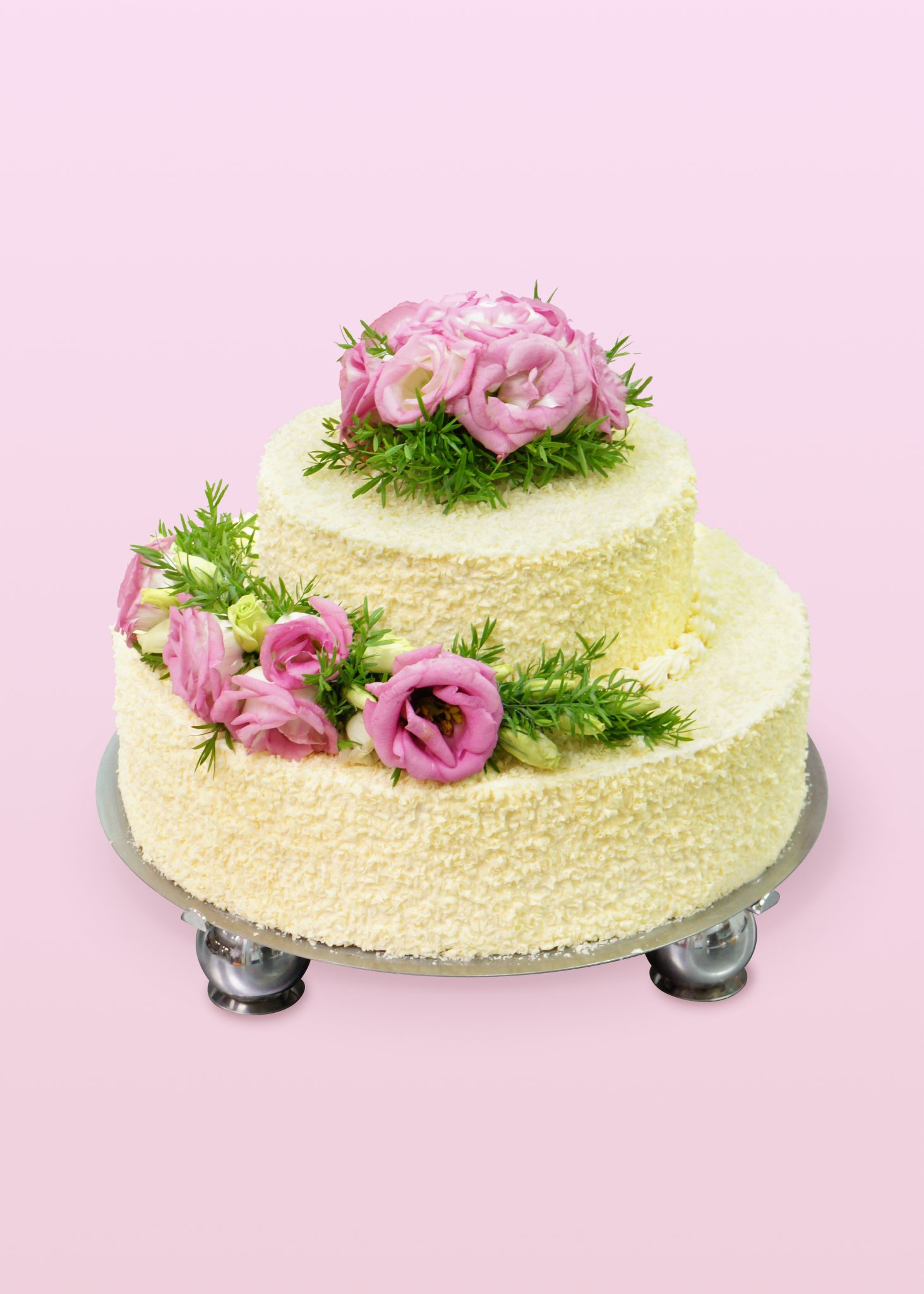 tort-weselny, 2 piętrowy tort