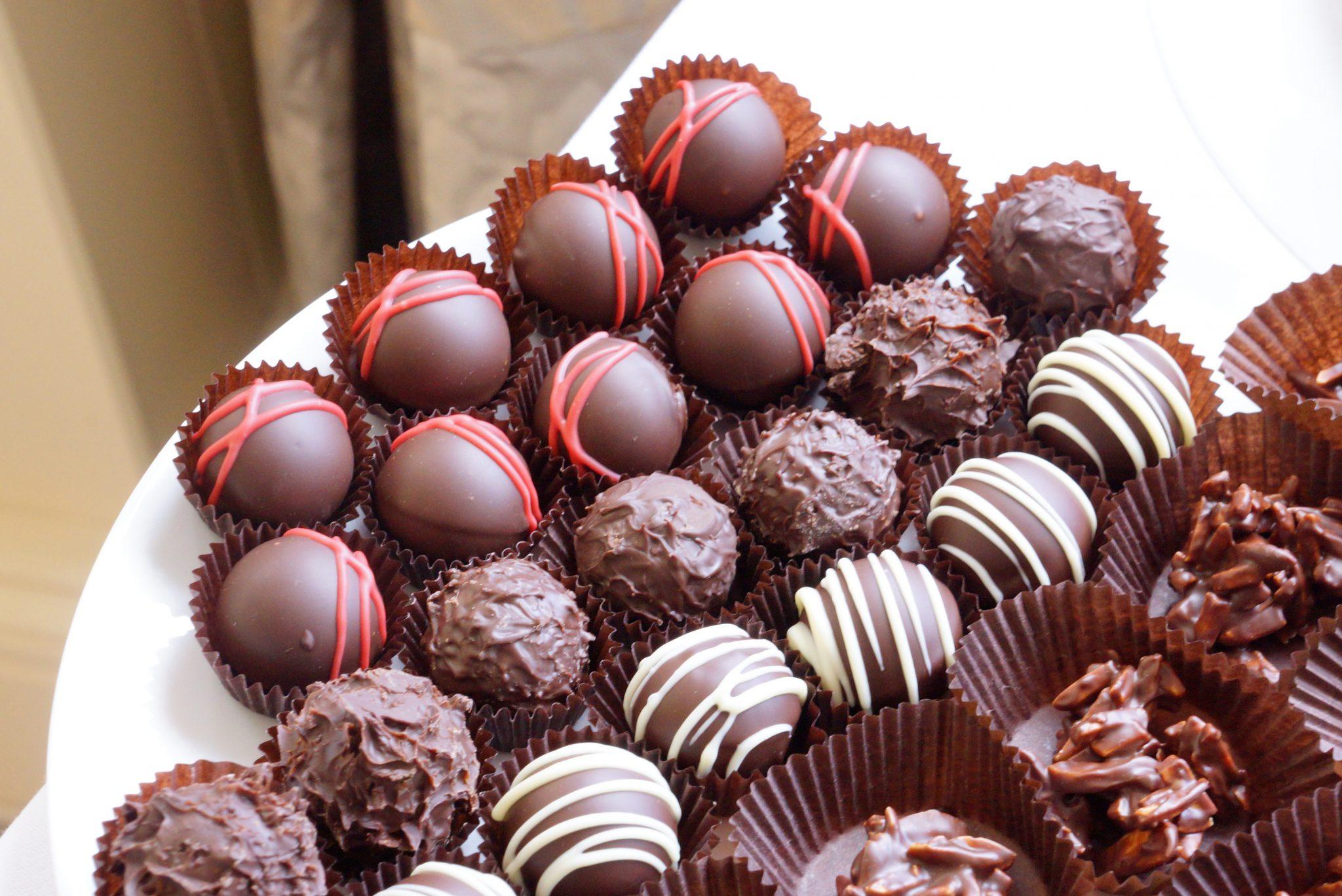 czekoladki i praliny bon bon