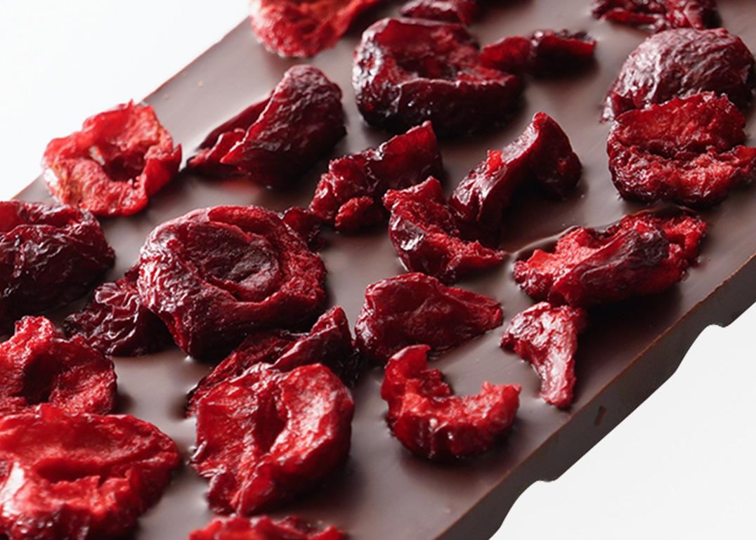 czekolada z wiśnią