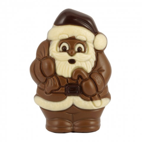 maly mikolaj z czekolady
