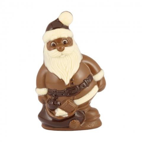 mikołaj z czekolady