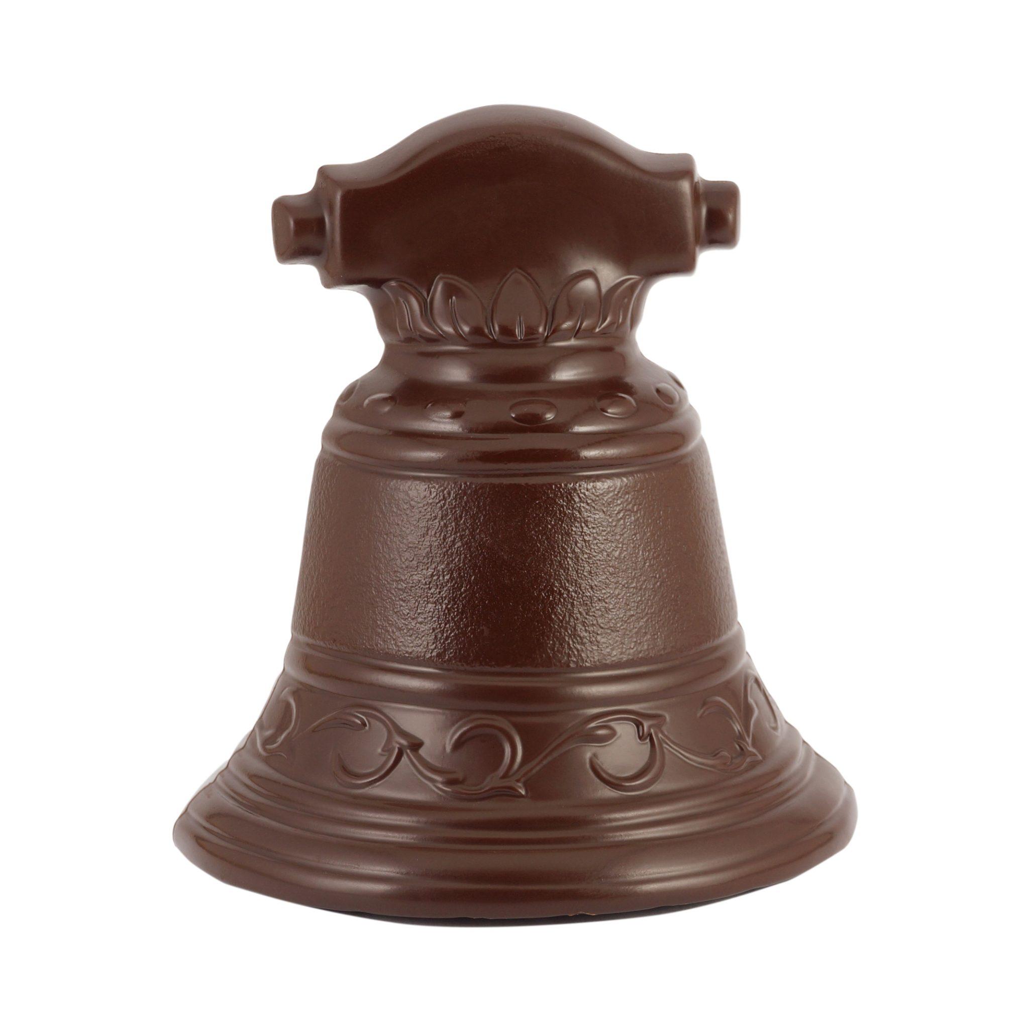 Dzwon z czekolady deserowej