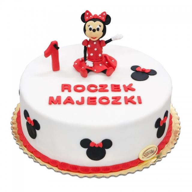 tort na roczek minnie