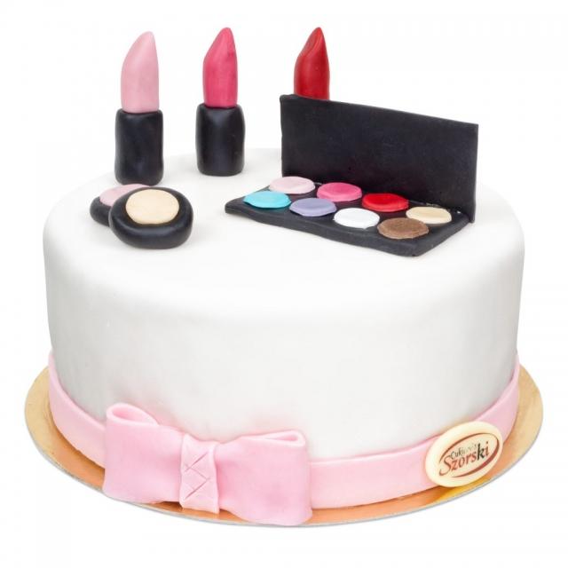 tort szminka tort kosmetyki