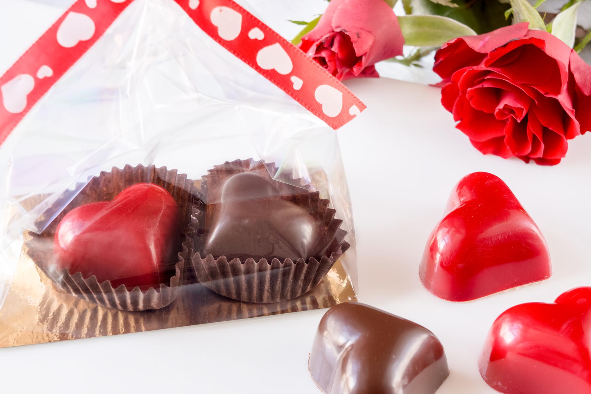 czekoladki walentynkowe