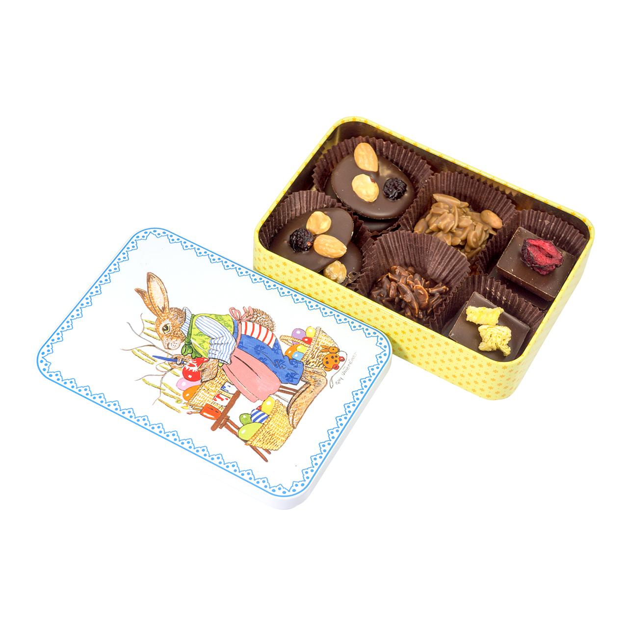 puszka z czekoladkami ostrów wielkopolski