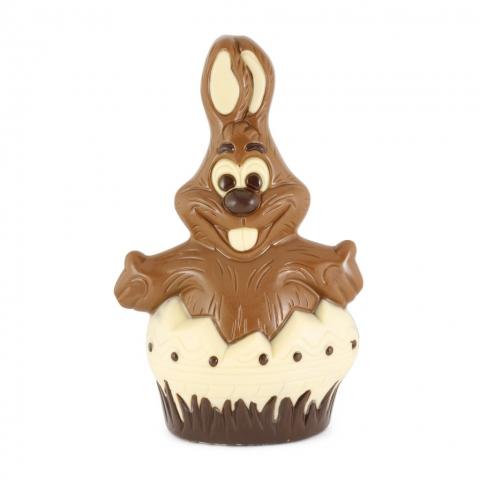 czekoladowy zajaczek z jajka