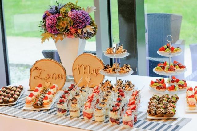 slodki catering na wesele