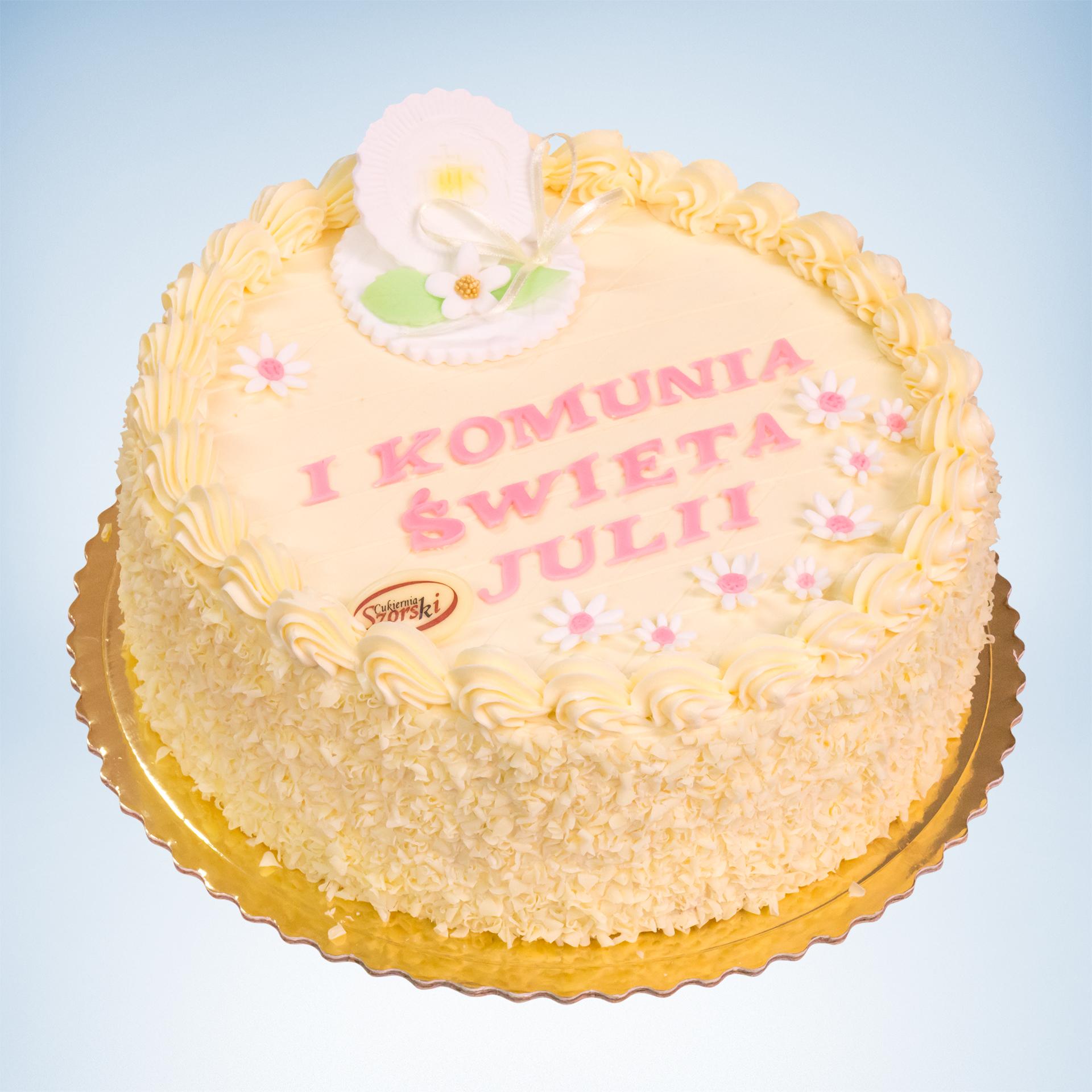 tort na komunie jasny maly