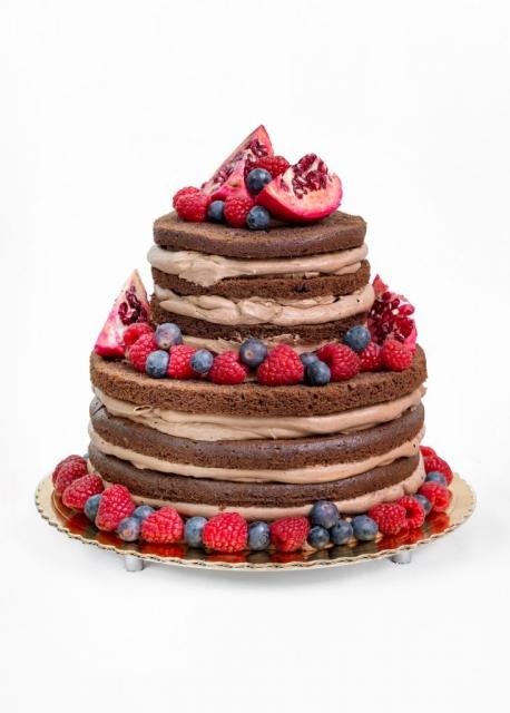 Tort naked czekoladowy