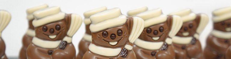 Figurki z czekolady