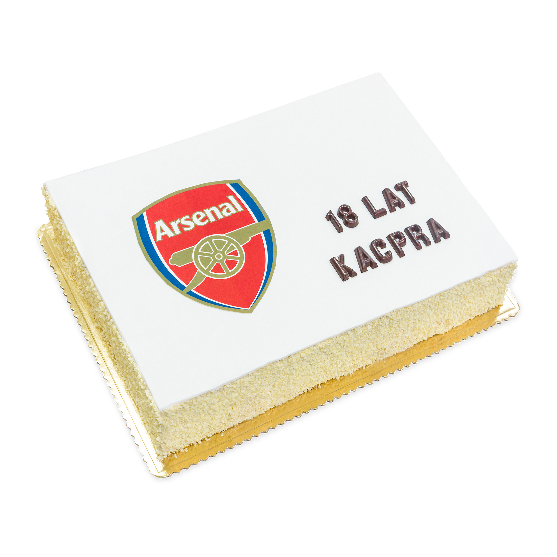 tort arsenal, tort na osiemnastke duzy