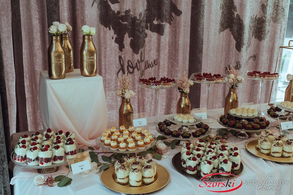słodki catering elegancki