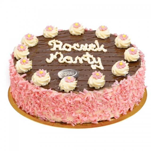 tort na roczek czekoladowy