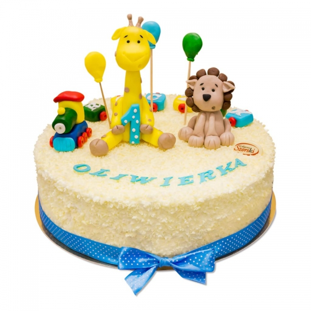 tort z figurkami